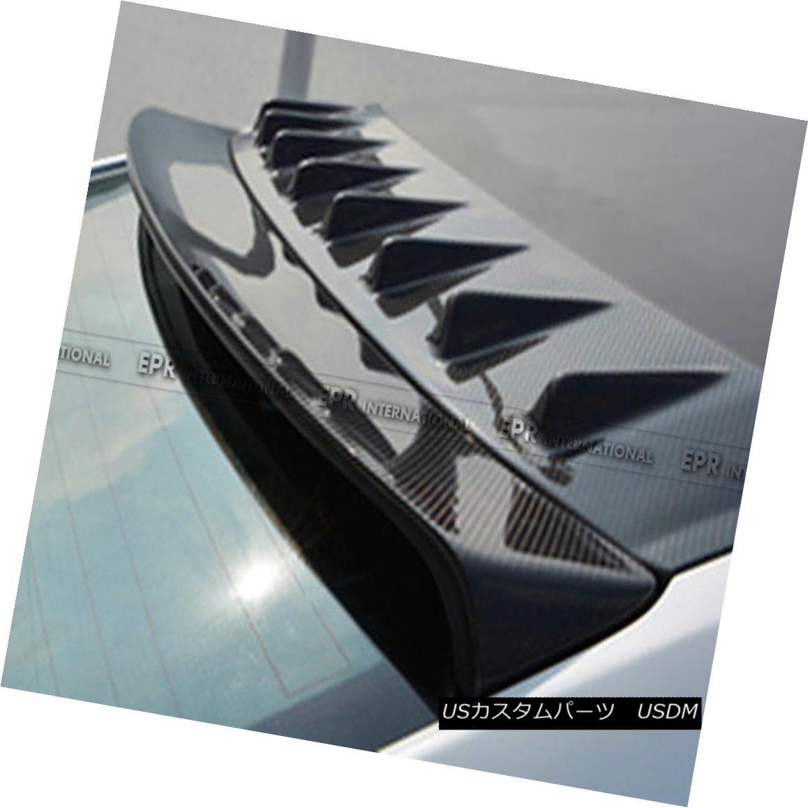 エアロパーツ ABC FRP Vortexx Generator Part Kits For Honda Civic FC 10th Generation Racing ホンダシビックFC第10世代レーシング用ABC FRPボルテックスジェネレータキット