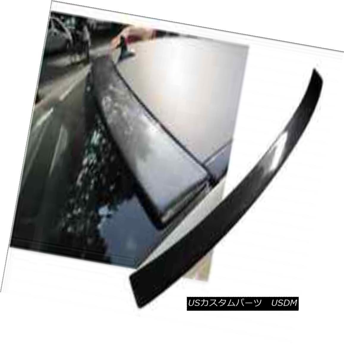 エアロパーツ ABC Rear Roof Spoiler Wing For Benz C-Class C180 C200 C260 C300 C63 07-10 Carbon ベンツCクラスC180 C200 C260 C300 C63 07-10カーボン用ABCリアルーフスポイラーウィング