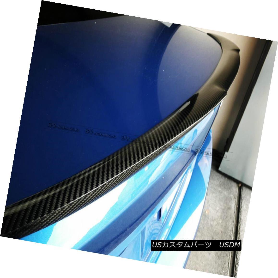 エアロパーツ For BMW 2 Series F22 M4(V)Style 14-17 Carbon Fiber Rear Trunk Spoiler Refit Kit BMW 2シリーズF22 M4(V)スタイル14-17カーボンファイバーリアトランク・スポイラー・リフィット・キット
