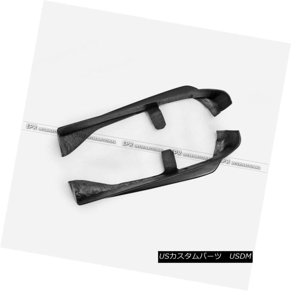エアロパーツ AER 2Pcs OEM Rear Bumper Spat Add on For Subaru Impreza VAB VAF STI Fiber Glass AER 2Pcs OEMリアバンパースパット、スバルインプレッサVAB VAF STIファイバーグラスに追加