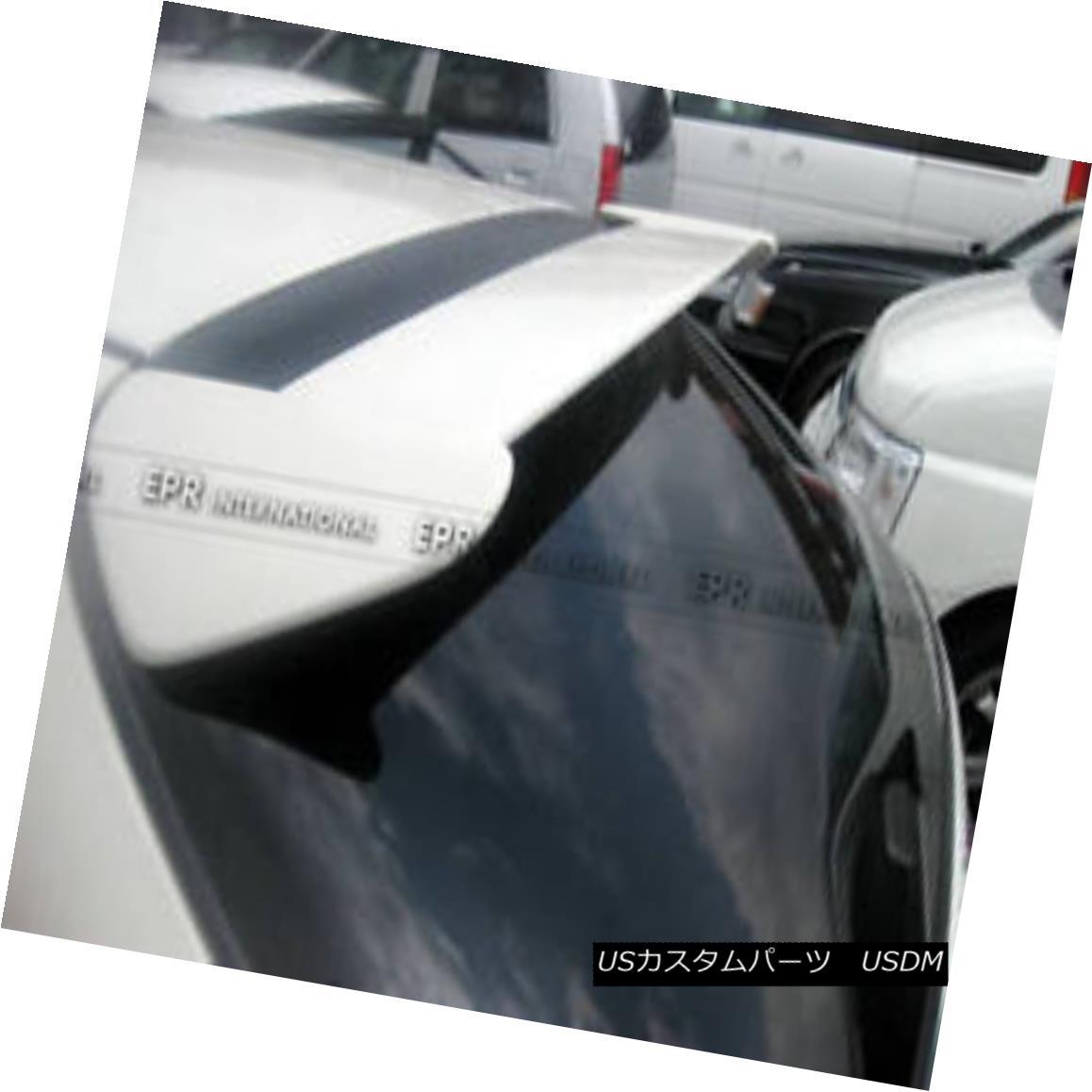 エアロパーツ For Honda EK Civic TypeR FRP Fiber Glass Rear Roof Window Visor Spoiler Wing Honda EKシビックTypeR FRPファイバーグラスリアルーフウィンドウバイザースポイラーウイング