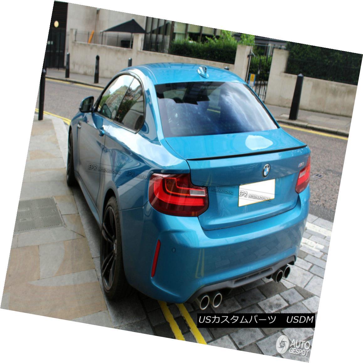 <title>車用品 バイク用品 >> パーツ 外装 エアロパーツ リアスポイラー For BMW 2 Series F22 M2 Style 14-17 5%OFF Carbon Fiber Rear Ducktail Spoiler Wing Part 2シリーズF22 M2スタイル14-17カーボンファイバーリアダックテールスポイラーウイングパーツ</title>