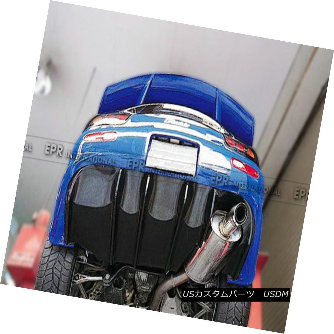 エアロパーツ Rear Under Diffuser Panel Lip Kit Splitter FED FRP Fiber For Mazda RX7 FD3S リアディフューザーパネルリップキットスプリッターFED FRPファイバー(マツダRX7 FD3S用)