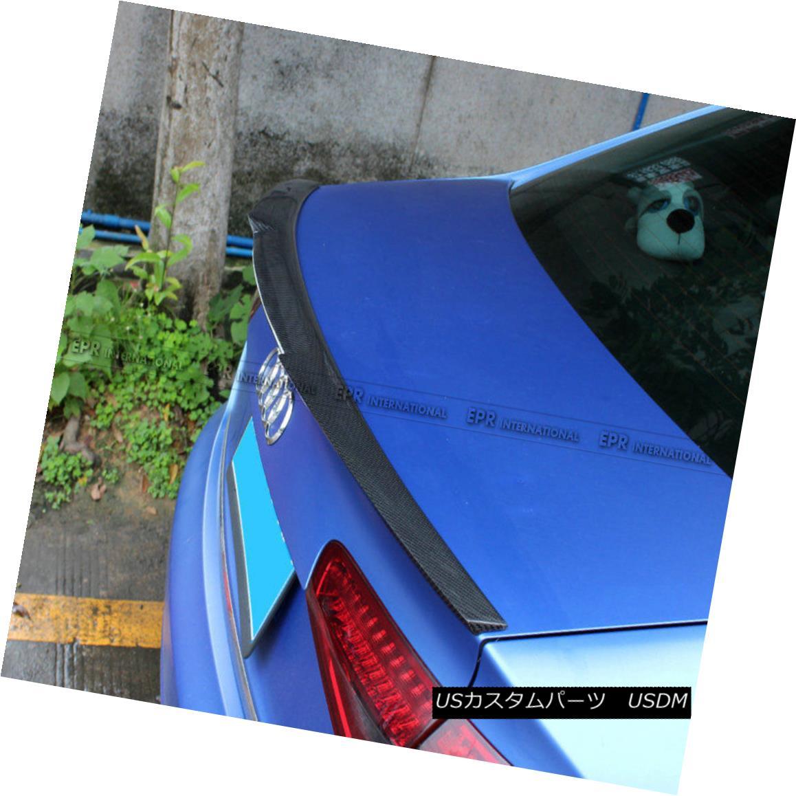 <title>車用品 バイク用品 >> パーツ 外装 エアロパーツ リアスポイラー For Audi A4 B8.5 M4 Style 13-16 Carbon Fiber Rear 売れ筋 Ducktail Spoiler Add on Parts アウディA4 M4スタイル13-16カーボンファイバーリアダックテールスポイラー</title>
