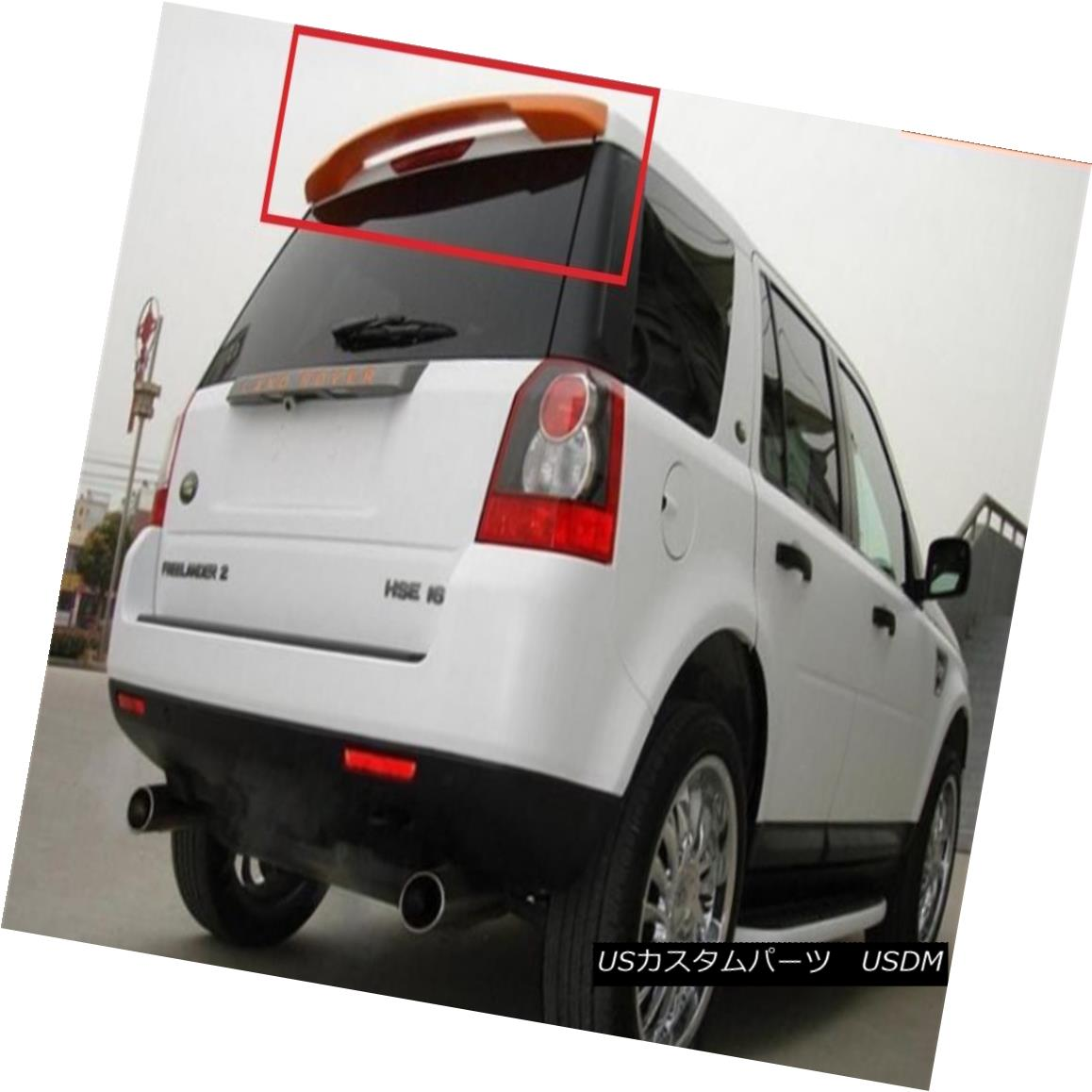エアロパーツ LAND ROVER FREELANDER 2 MK2 REAR ROOF SPOILER NEW FROM 2007 LAND ROVER FREELANDER 2 MK2リアルーフスポイラー2007年新製品