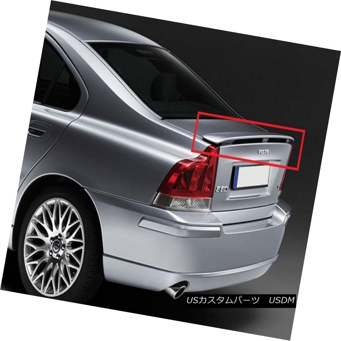 エアロパーツ VOLVO S60 (2002-2005) REAR BOOT SPOILER NEW VOLVO S60(2002-2005)リア・ブーツ・スポイラー