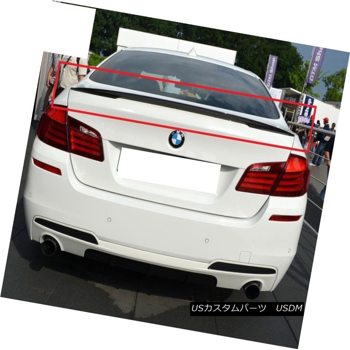 エアロパーツ BMW 5 SERIES F10 REAR BOOT TRUNK LIP SPOILER PERFORMANCE LOOK NEW M5 BMW 5シリーズF10リアブーツトランクリップスポイラーの性能を見るNEW M5