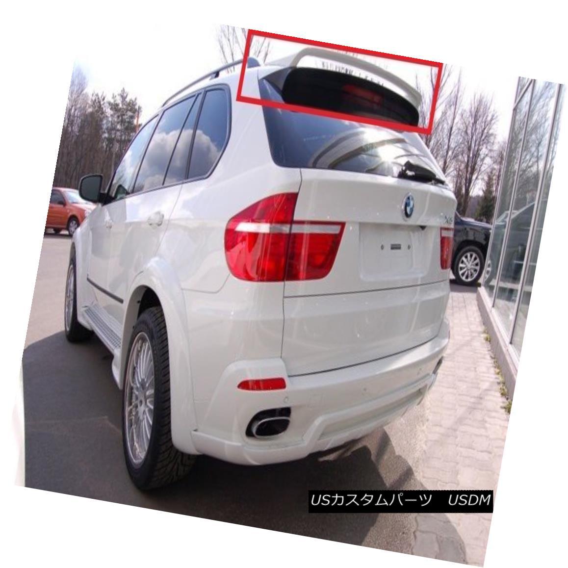 エアロパーツ BMW X5 E70 2006 - 2013 REAR ROOF SPOILER NEW BMW X5 E70 2006 - 2013リア・ルーフィ・スポイラーNEW