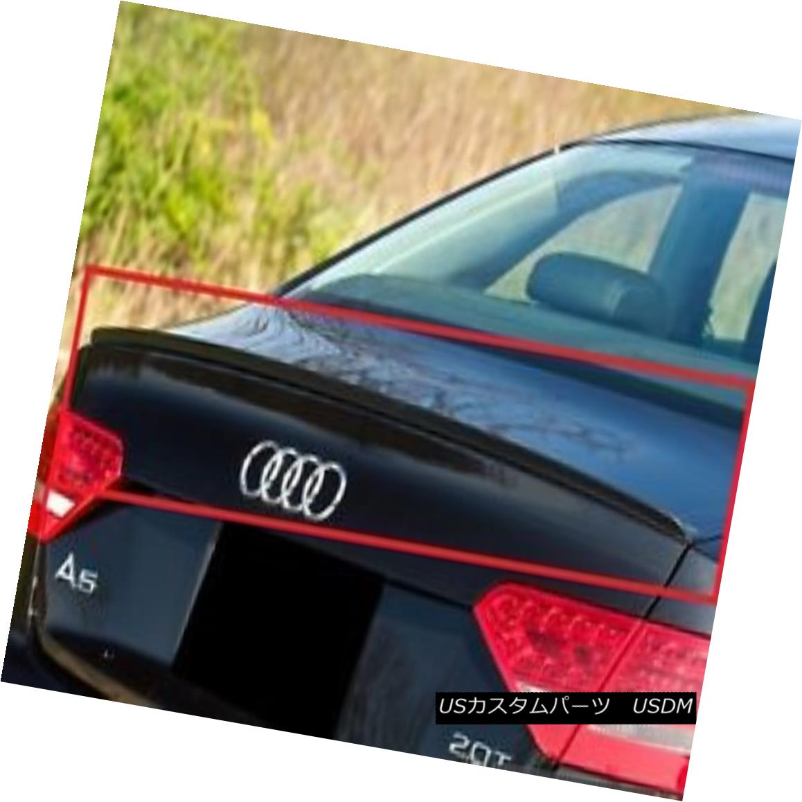 エアロパーツ AUDI A5 REAR BOOT TRUNK SPOILER S-LINE LOOK NEW AUDI A5リア・ブーツ・トランク・スポイラーS-LINE NEW LOOK