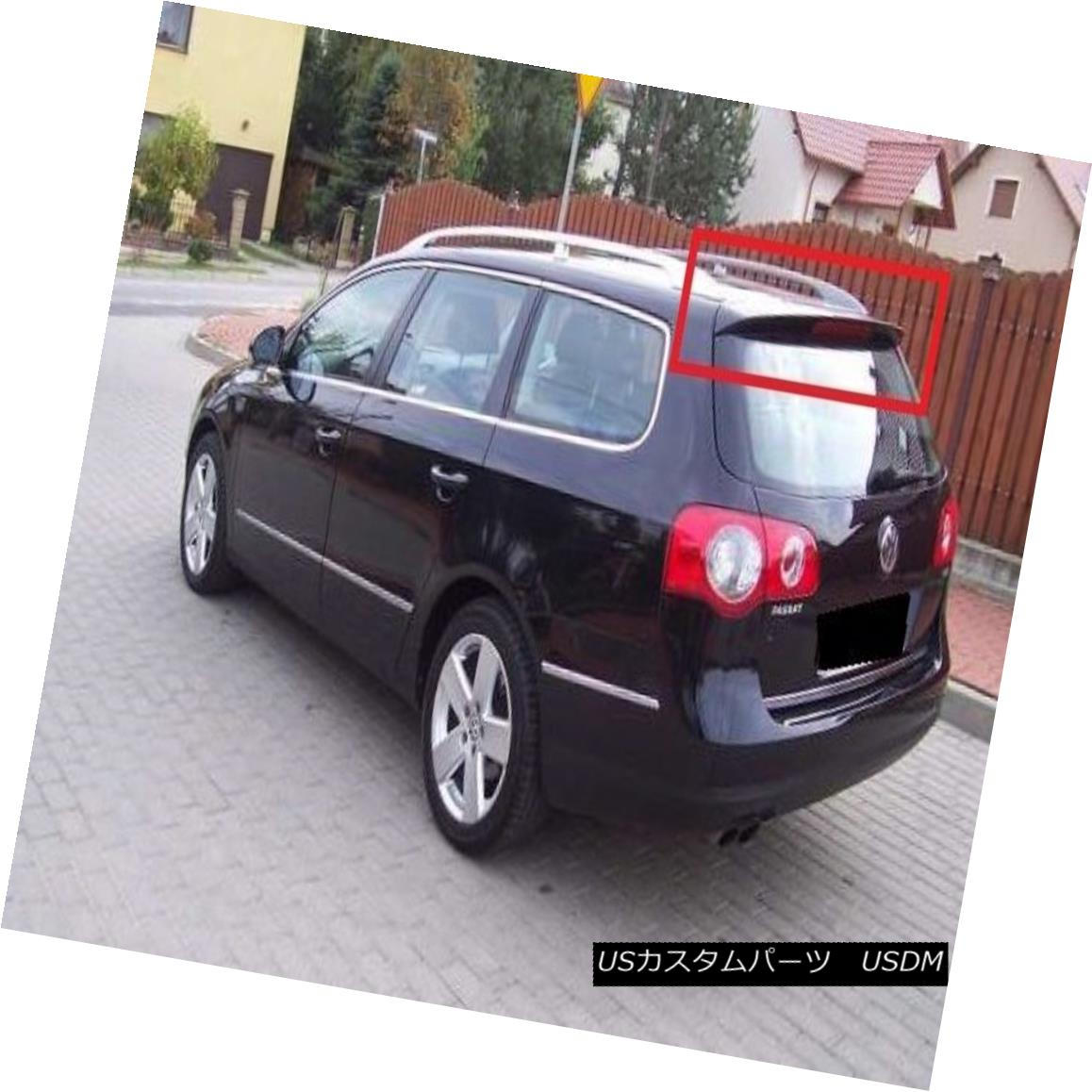 エアロパーツ VOLKSWAGEN VW PASSAT B6 R-LINE 06-10 AVANT / ESTATE REAR ROOF SPOILER NEW フォルクスワーゲンVWパサートB6 Rライン06-10 AVANT / ESTATE REAR ROOF SPOILER NEW