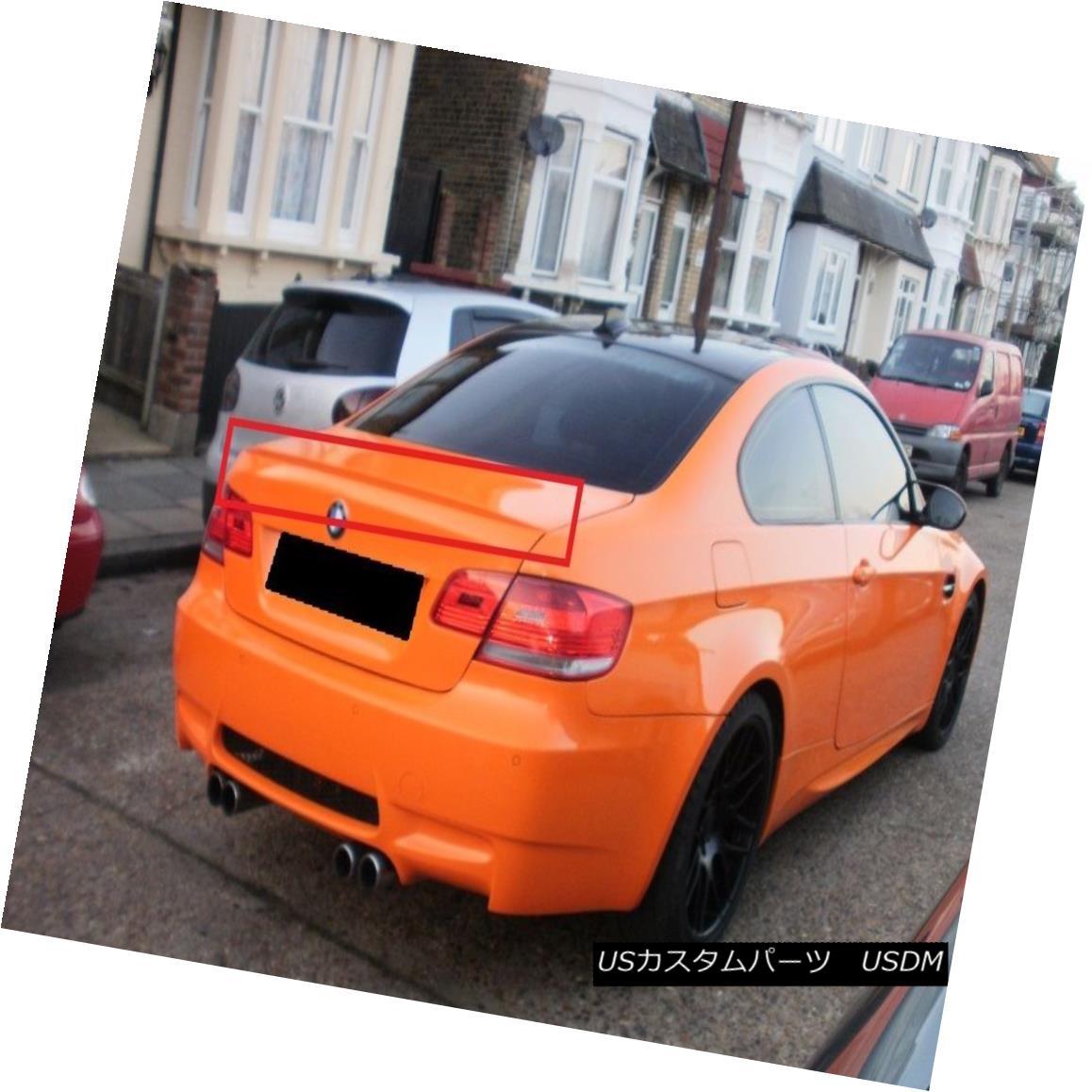 エアロパーツ BMW 3 SERIES E92 M3 LOOK REAR BOOT TRUNK SPOILER NEW BMW 3シリーズE92 M3リア・トゥ・ブーツ・トゥーン・スポイラーを見るNEW