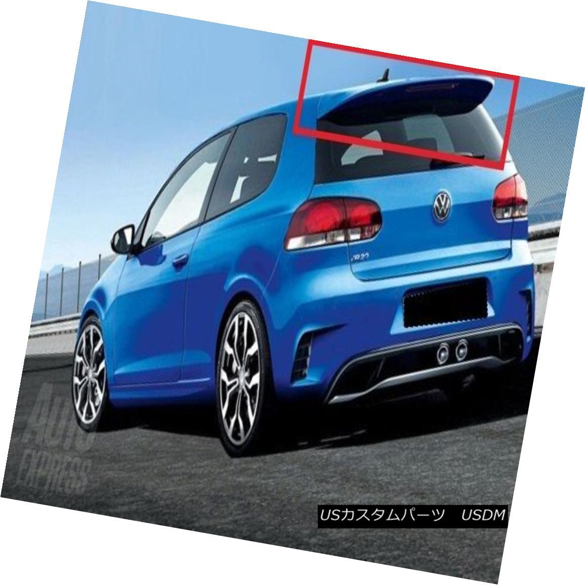 エアロパーツ VW VOLKSWAGEN GOLF 6 MK6 2008-2012 REAR ROOF SPOILER NEW VWフォルクスワーゲンゴルフ6 MK6 2008-2012リアルーポスポイラー
