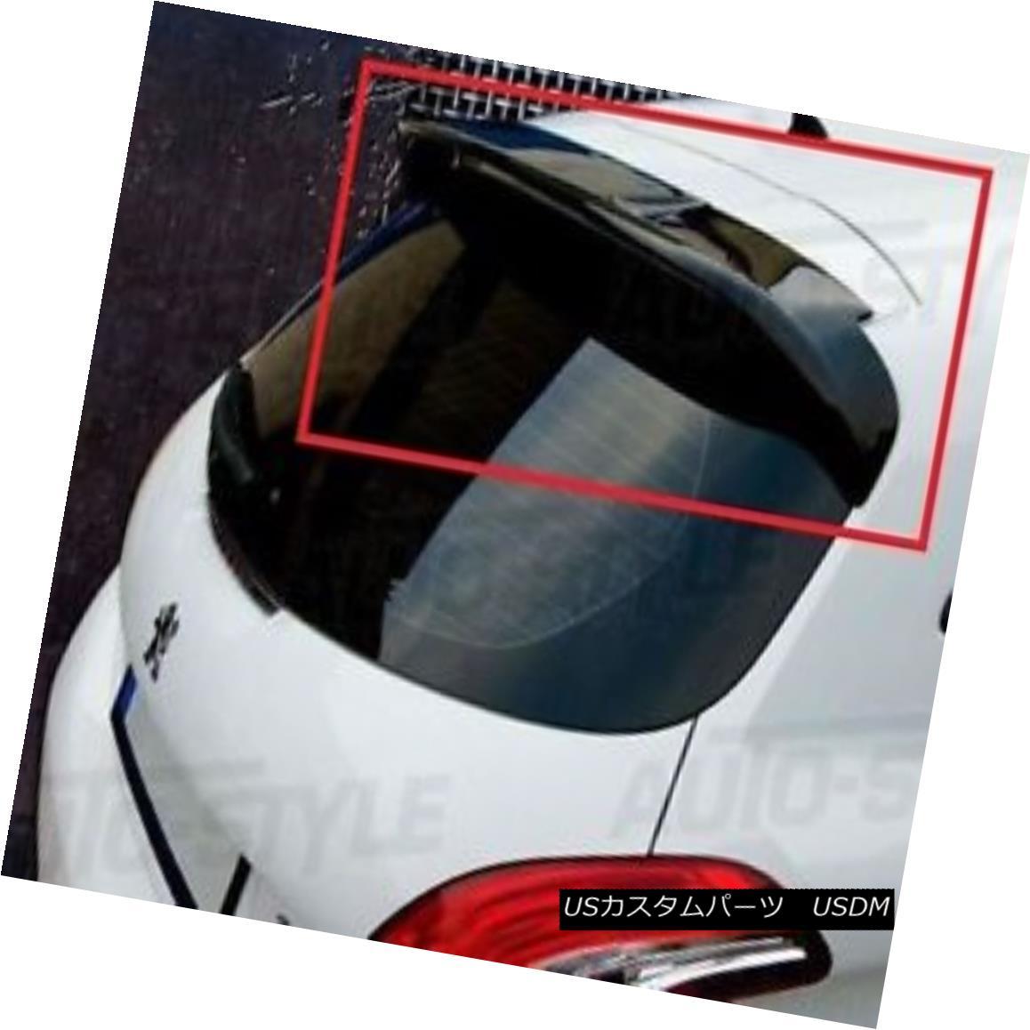 エアロパーツ PEUGEOT 208 GTI LOOK REAR ROOF SPOILER NEW プジョー208 GTIルアースポイラーNEW