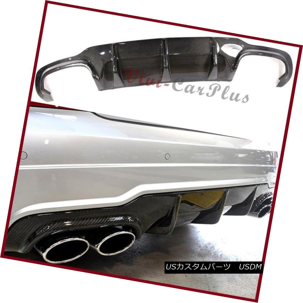 エアロパーツ AMG Type Rear Diffuser Carbon Fiber Fit 12-14 M-Benz C204 2DR C250 C300 C350 C63 AMGタイプリアディフューザーカーボンファイバーフィッティング12-14 M-Benz C204 2DR C250 C300 C350 C63