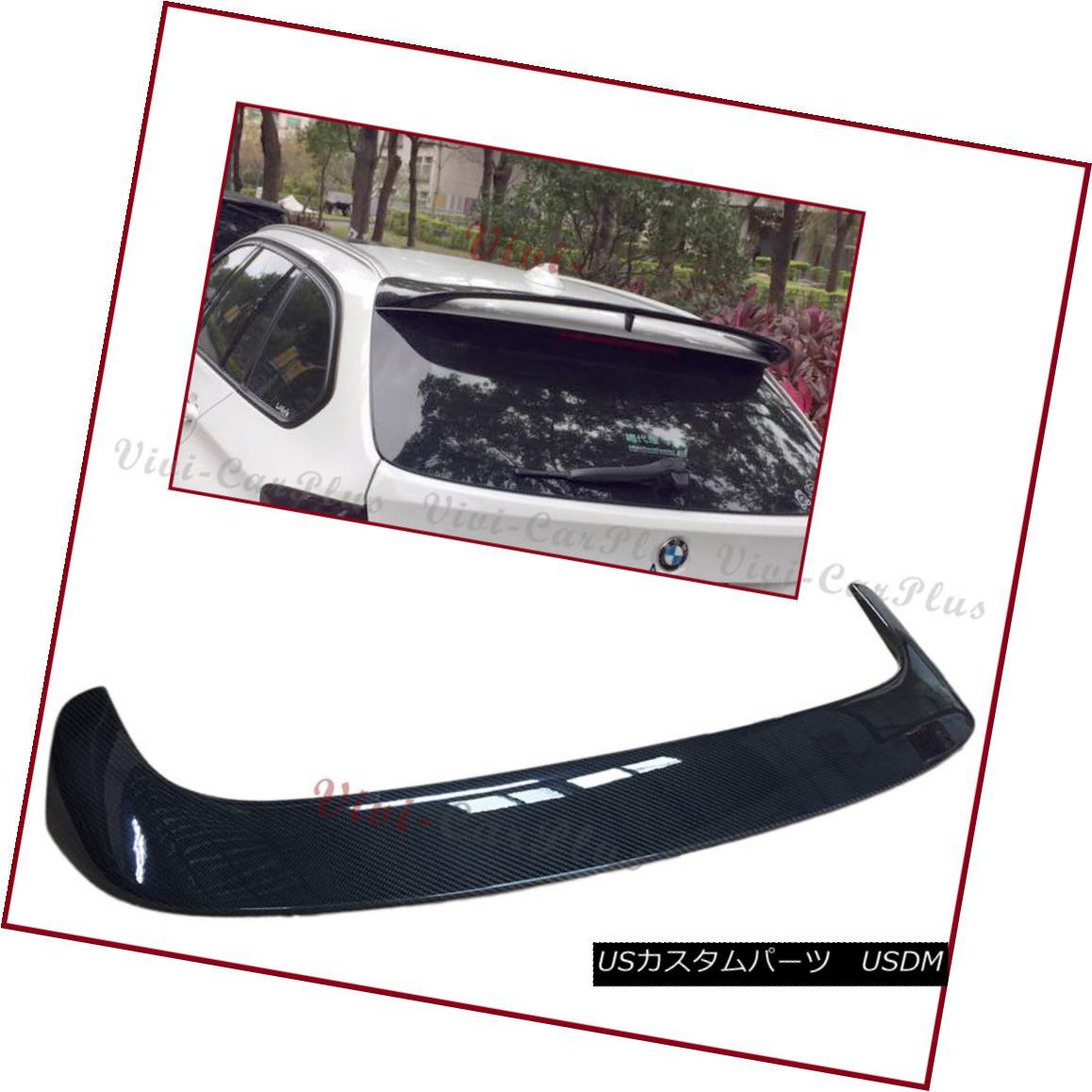 エアロパーツ P Look Carbon Fiber Roof Spoiler Wing Lip For 13-17 BMW F31 3-Series Touring 5DR Pルックカーボンファイバールーフスポイラーウイングリップ13-17 BMW F31 3シリーズツーリング5DR