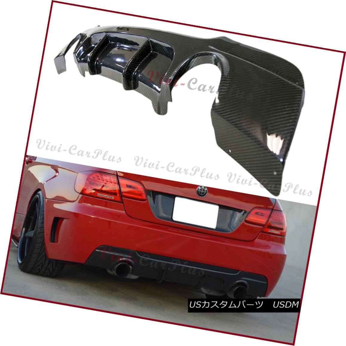 エアロパーツ For 07-13 E92 E93 328i 335i M-Sport Bumper Carbon Fiber P Type Rear Diffuser Lip 07-13 E92 E93 328i 335i MスポーツバンパーカーボンファイバーPタイプリアディフューザーリップ