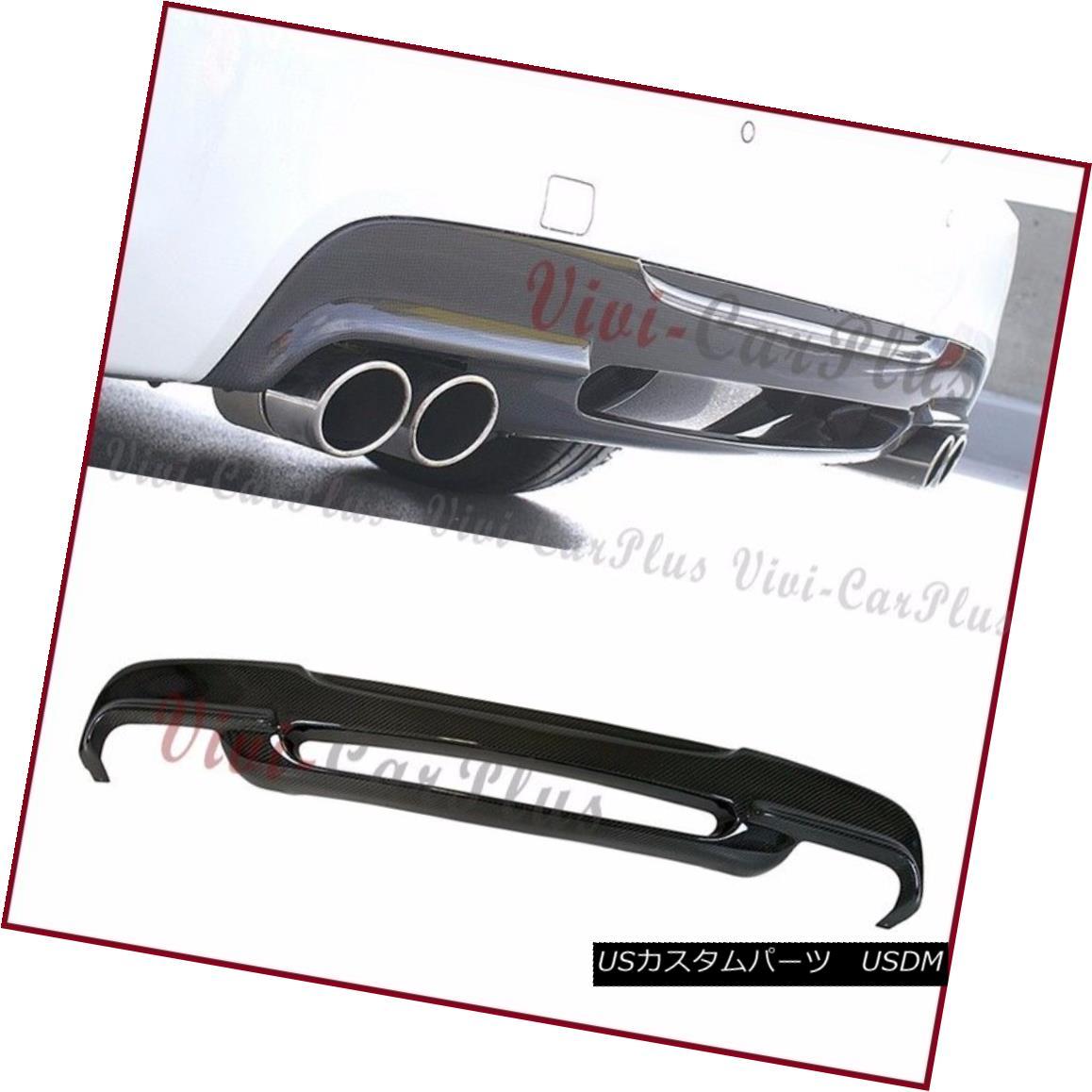 エアロパーツ For BMW 06-11 E90 E91 328i 335i M Tech Bumper Carbon Fiber 3D Look Rear Diffuser BMW 06-11 E90 E91 328i 335i Mテックバンパーカーボンファイバー3Dリアディフューザー