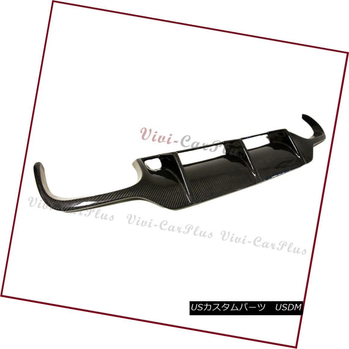 エアロパーツ 3K Carbon Fiber Rear Replaced Diffuser Fit 09-12 BENZ R230 SL63AMG Bumper Model 3Kカーボンファイバーリアディフューザーフィット09-12ベンツR230 SL63AMGバンパーモデル