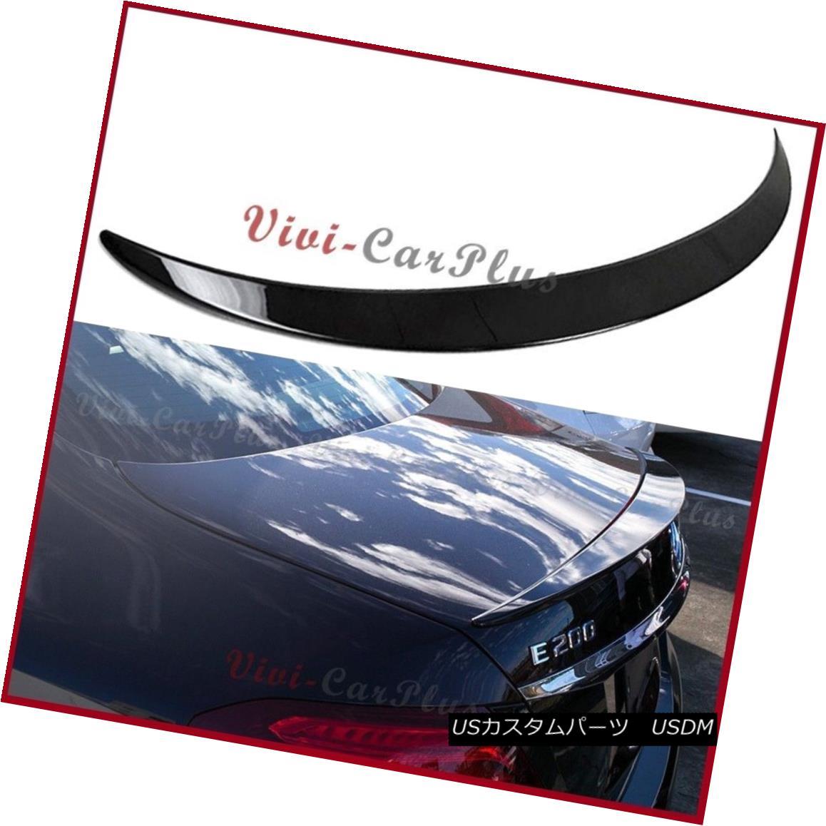 エアロパーツ PAINTED 2016UP Benz W213 E-Sedan E300 E500 E250 OE Type Trunk Spoiler Add-On Lip PAINTED 2016UPベンツW213 EセダンE300 E500 E250 OEタイプトランクスポイラーアドオンリップ