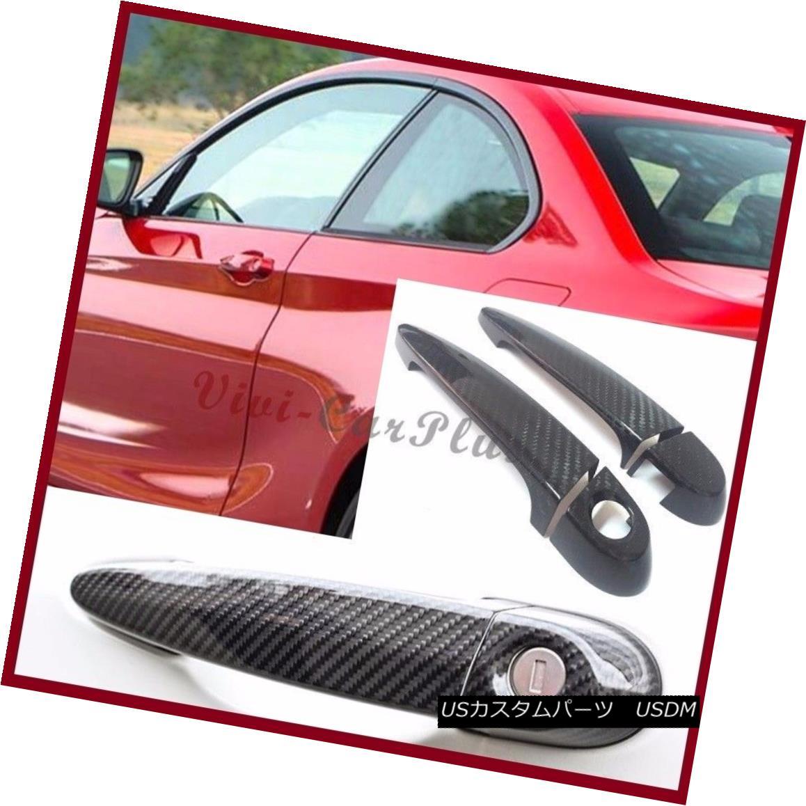 車用品 バイク用品 >> パーツ 外装 エアロパーツ その他 For BMW 2014 男女兼用 UP F22 最安値 F23 220i Fiber 2DRカーボンファイバードアハンドルカバー 2DR 228i Carbon Cover M235i 235i Handle Door