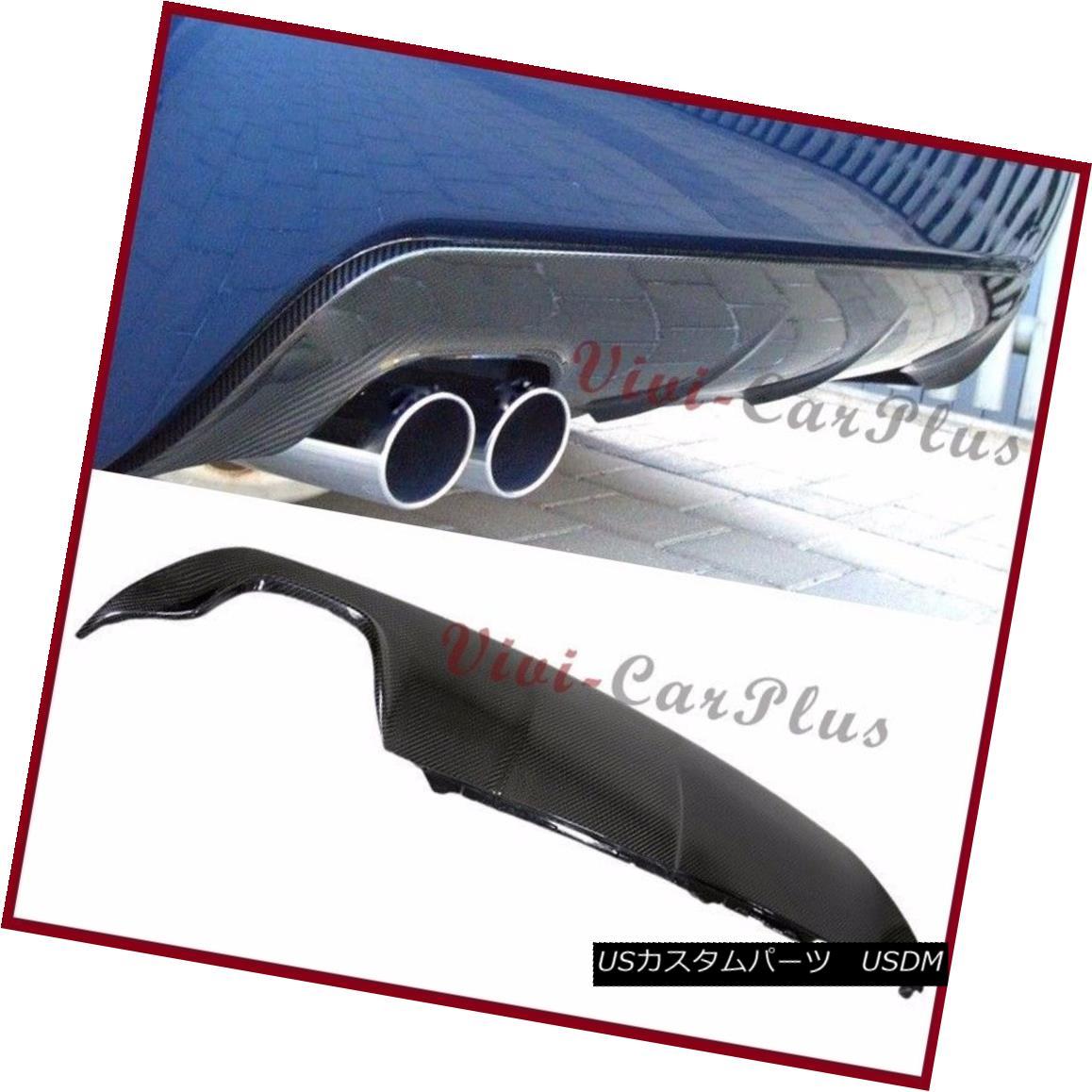 エアロパーツ 3D Look 3K Carbon Fiber Diffuser For BMW E60 04-10 535i 550i M Sport Rear Bumper BMW E60 04-10 535i 550i Mスポーツリアバンパー用3Dルック3K炭素繊維ディフューザー