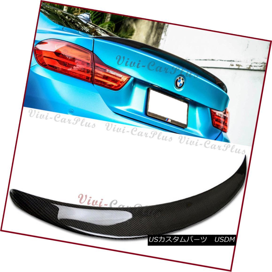 エアロパーツ 2014up BMW F32 420i 428i 435i Coupe P Type Trunk Wing Spoiler Boot Carbon Fiber 2014up BMW F32 420i 428i 435iクーペPタイプトランクウイングスポイラーブーツカーボンファイバー