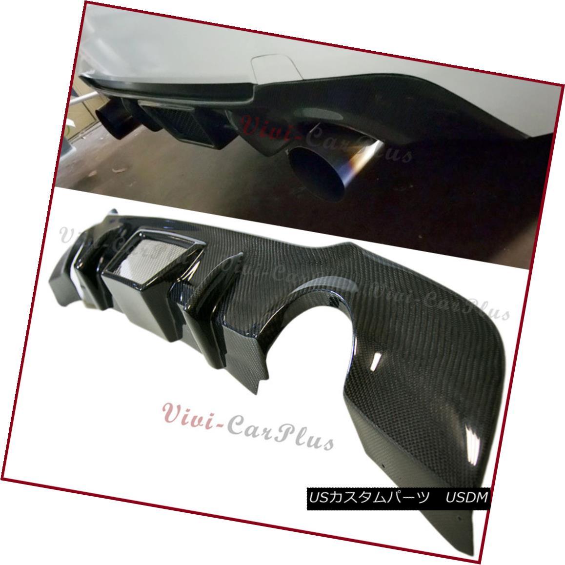 エアロパーツ For 07-13 E92 E93 328i 335i M-Sporty Bumper Carbon Fiber TMS Style Rear Diffuser 07-13 E92 E93 328i 335i M-スポーティーバンパーカーボンファイバーTMSスタイルリアディフューザー