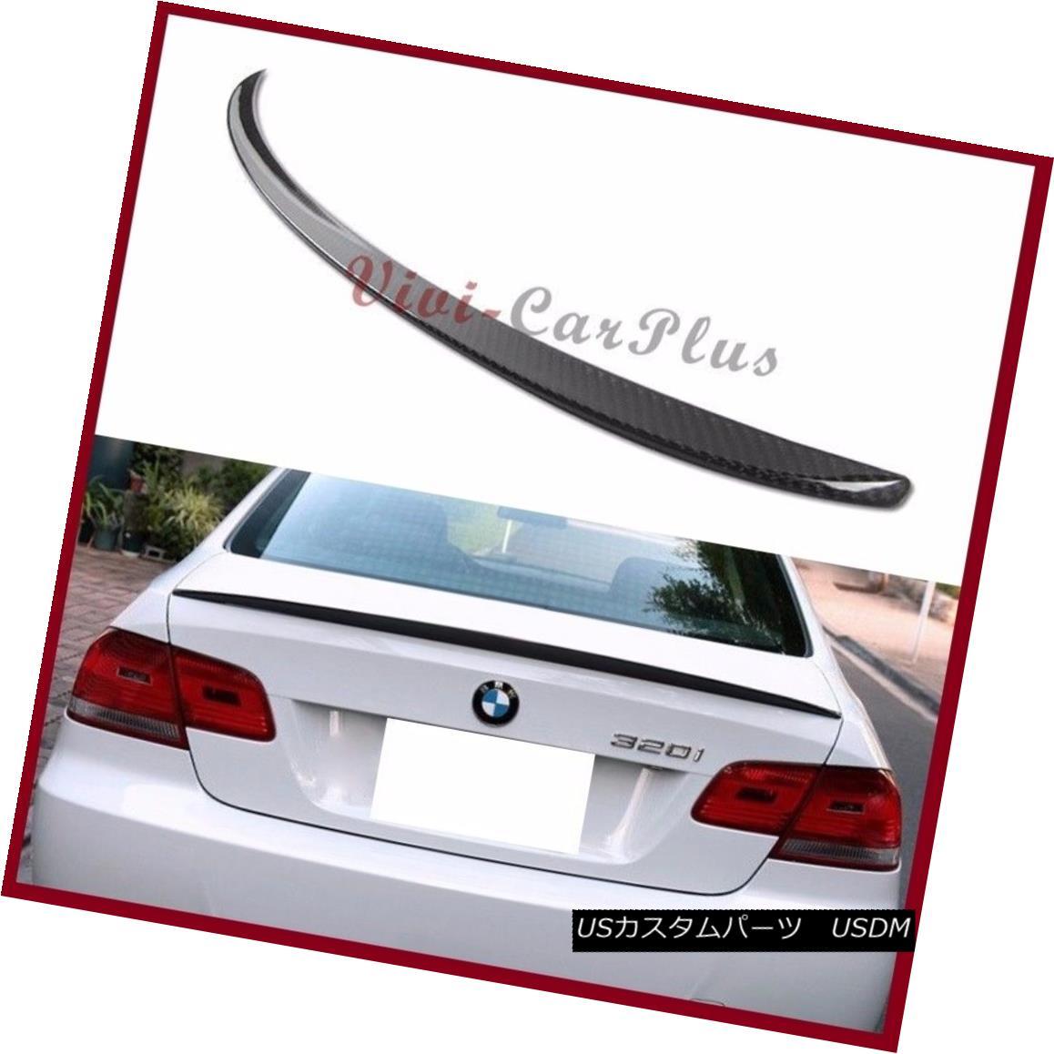エアロパーツ M3 Type Trunk Spoiler 3K Carbon Fiber Boot For 07-2013 BMW E92 325i 328i 335i M3 M3タイプトランクスポイラー3K炭素繊維ブーツ、07-2013 BMW E92 325i 328i 335i M3