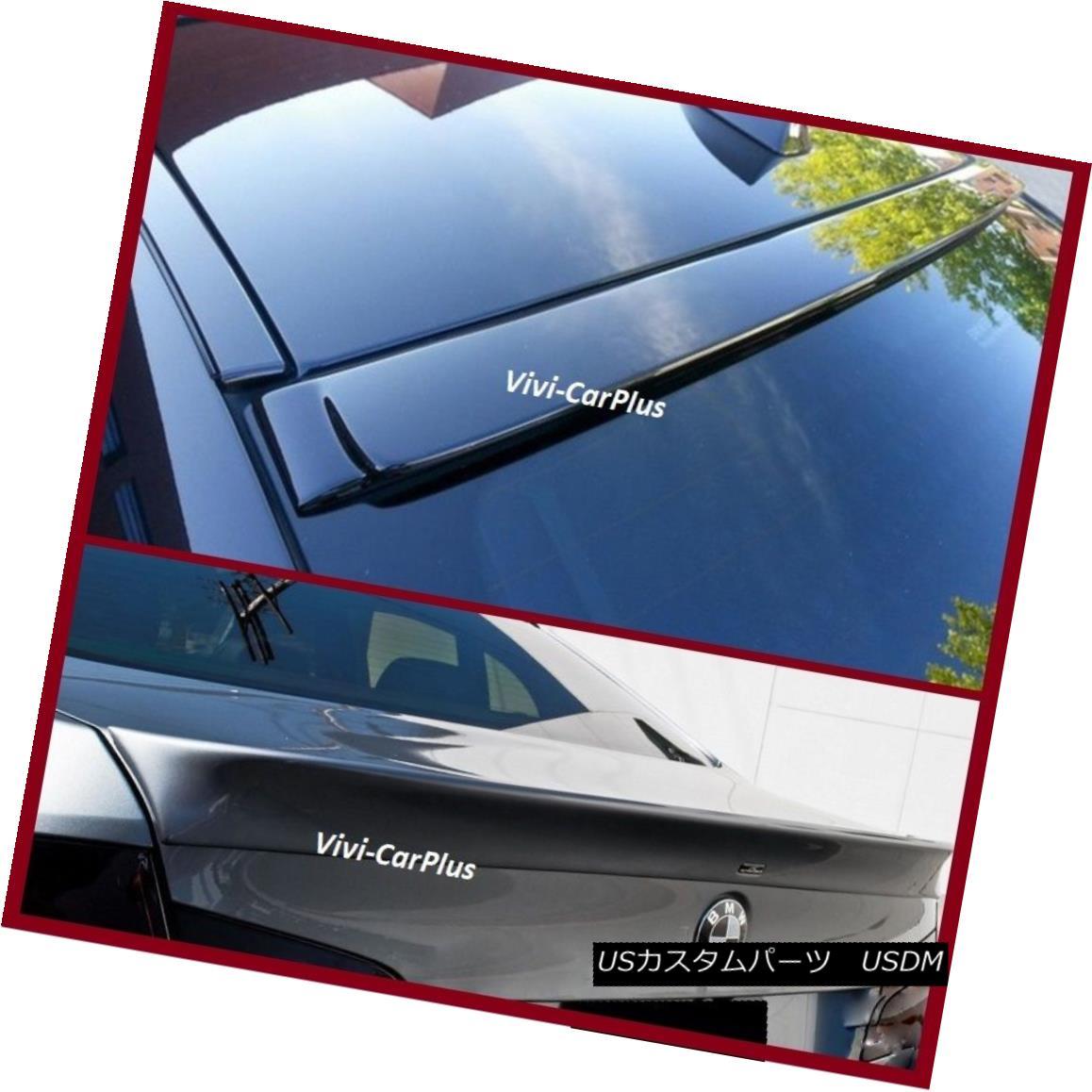 エアロパーツ Pick Color AC Roof & Trunk Boot Spoiler Lip For 11-16 BMW F10 535i 550i M5 4Dr ピックカラーAC屋根& 11-16用トランクブートスポイラーリップBMW F10 535i 550i M5 4Dr