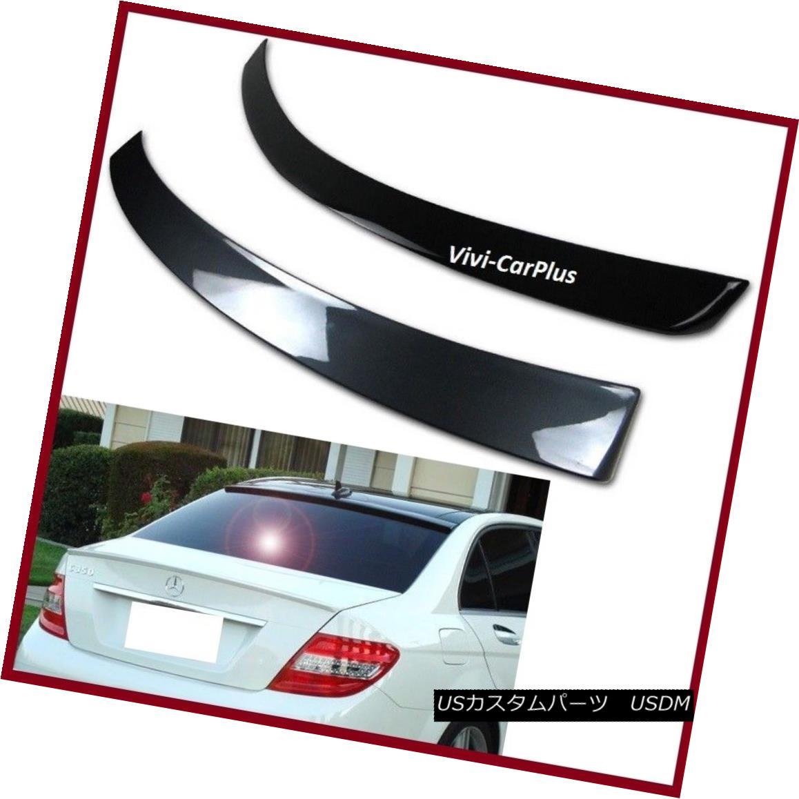 エアロパーツ Pick Color 12-15 M-Benz C204 Coupe C250 C350 C63 OE Roof + A Type Trunk Spoiler ピックカラー12-15 MベンツC204クーペC250 C350 C63 OEルーフ+ Aタイプトランク・スポイラー
