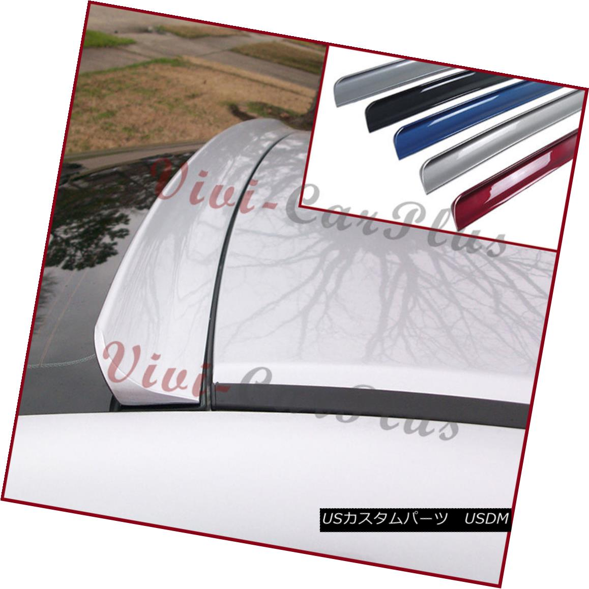 エアロパーツ PICK COLOR B Type PU Rear Roof Spoiler For 98-02 BENZ W208 CLK-Coupe CLK320 Wing ピック・カラーBタイプPUリア・ルーフ・スポイラー98-02 BENZ W208 CLK-Coupe CLK320ウィング