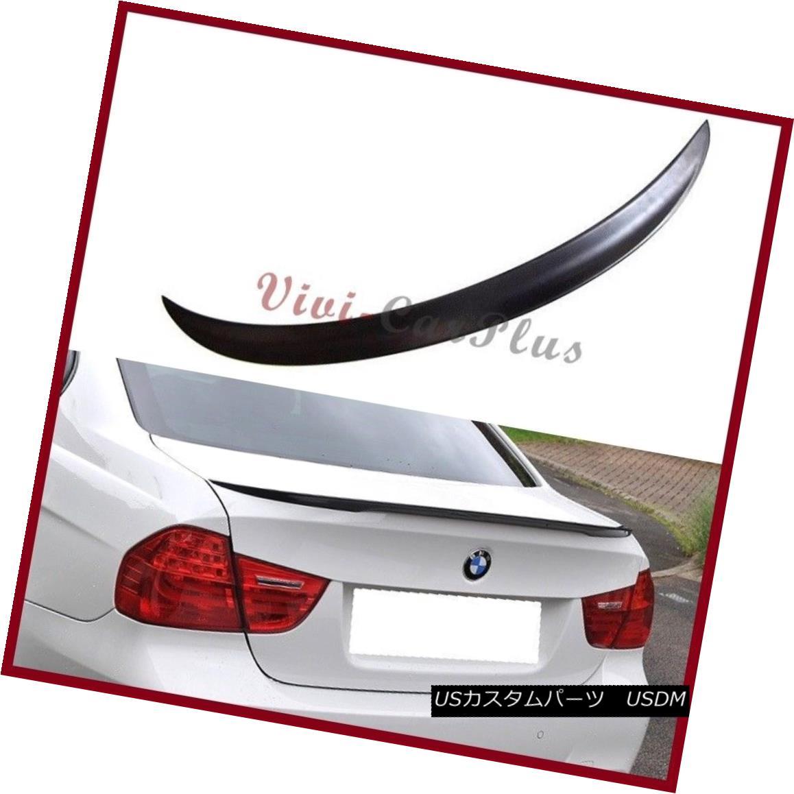 エアロパーツ Performance Tail Spoiler Lip For 06-11 BMW E90 323i 325i 328i 335i M3 PAINTED パフォーマンステールスポイラーリップfor 06-11 BMW E90 323i 325i 328i 335i M3 PAINTED
