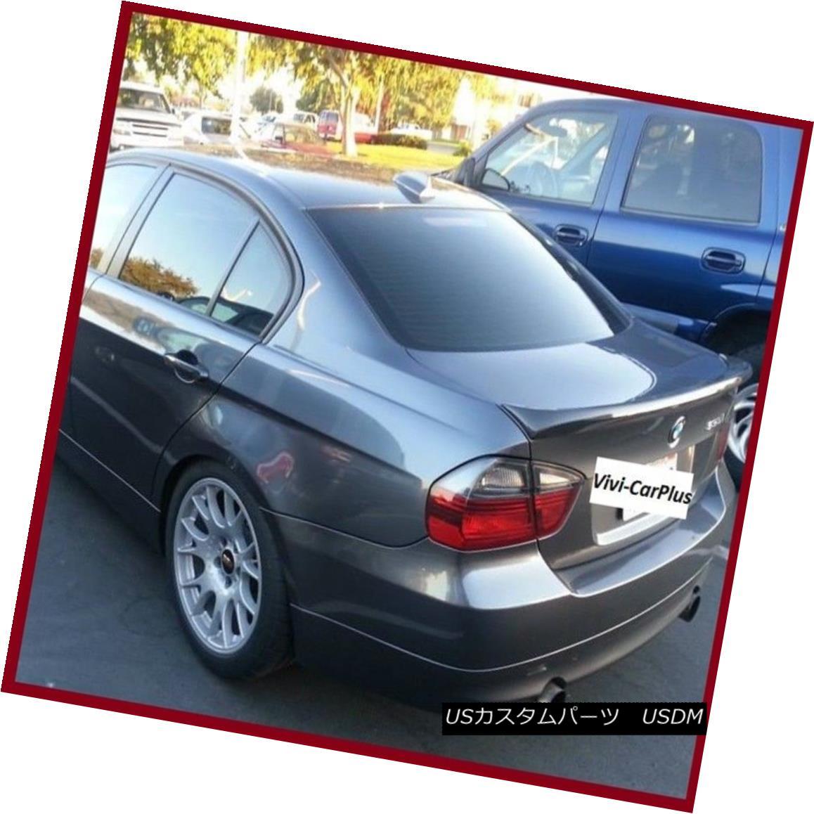For BMW 3-Series E90 Sedan OE Type Trunk Rear Boot Spoiler Wing 06-11 328i M3 Ω