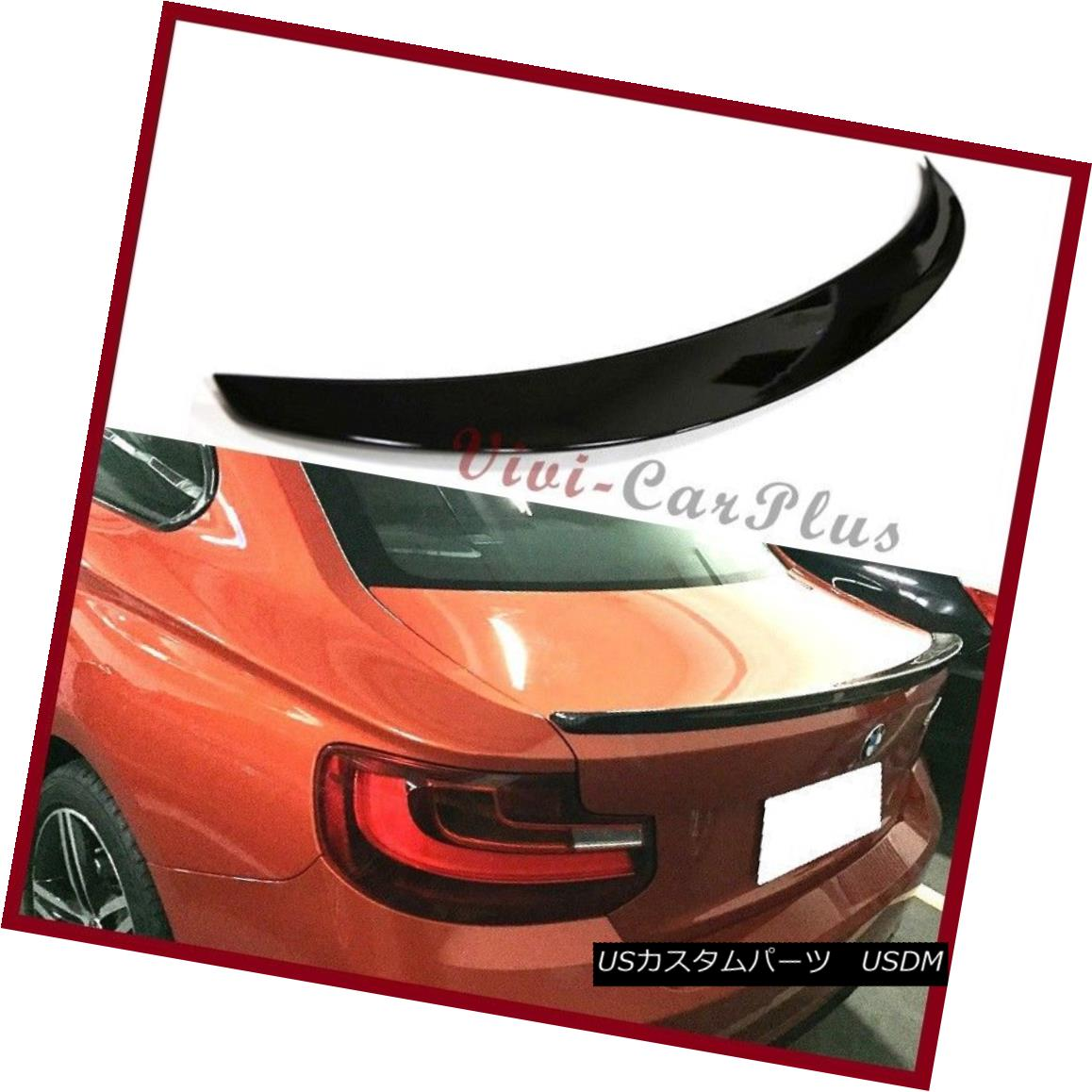 エアロパーツ 2014 2016 BMW F22 Performance Tail For 228i M235i Coupe PAINTED Rear Spoiler Lip 2014 2016 BMW F22パフォーマンステール228i M235iクーペPAINTEDリアスポイラーリップ