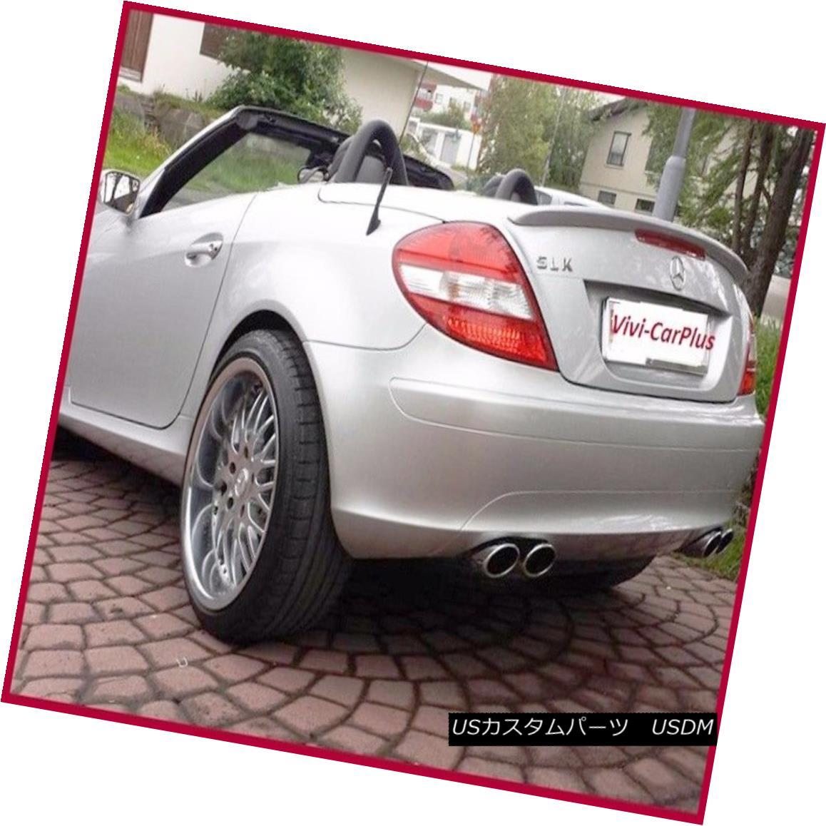 PAINTED A Type Trunk Rear Spoiler For 05-10 M-Benz R171 SLK280 SLK300 SLK55AMG