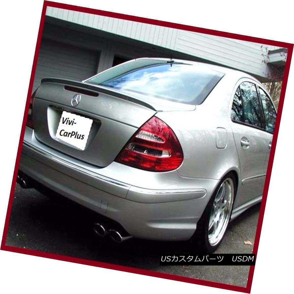 PAINTED 03-09 Benz W211 For E350 E500 E550 E55 AMG Type Wing Trunk Boot Spoiler