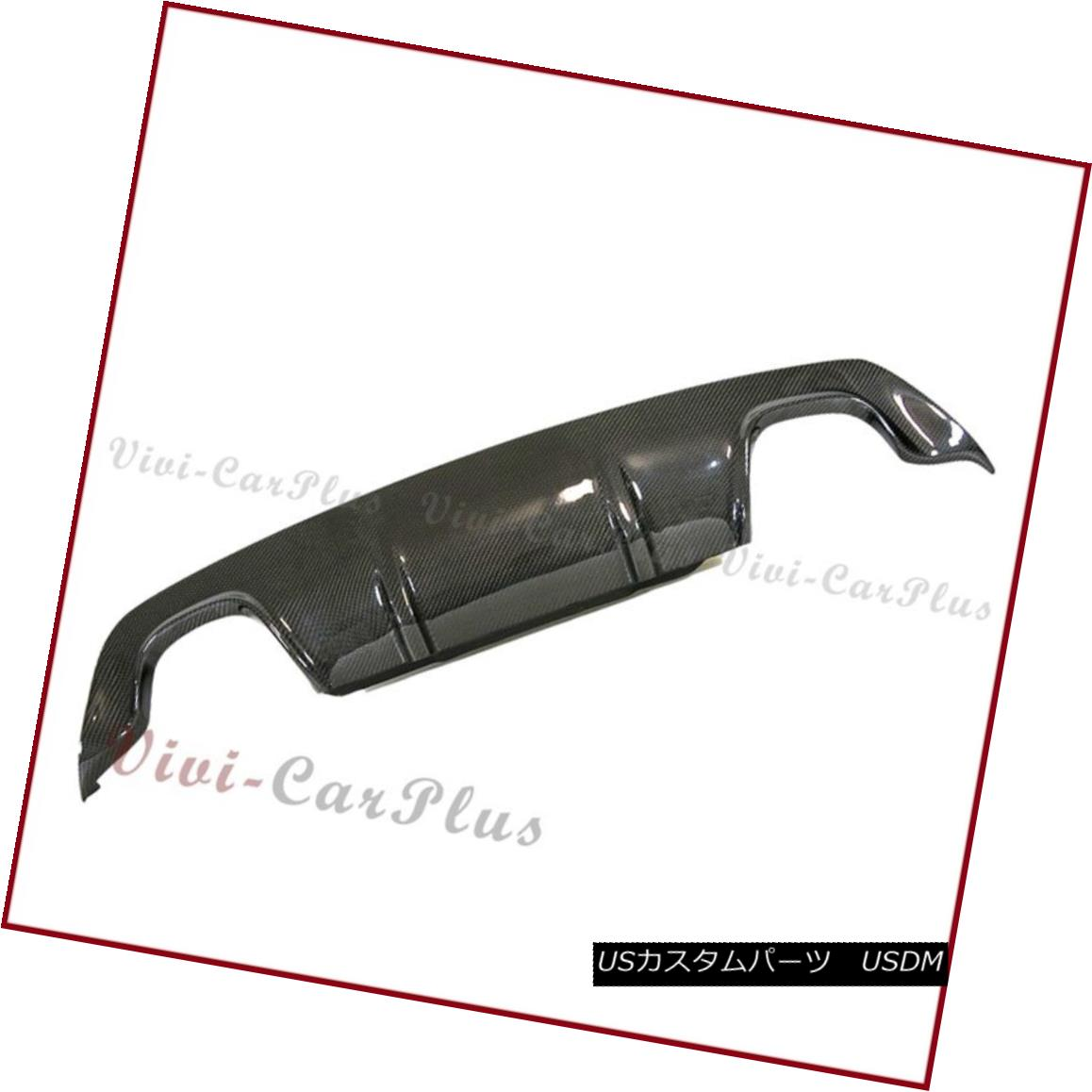 エアロパーツ For 04-10 BMW E60 E61 525i 528i M Sport 3D Carbon Fiber Bumper Diffuser Quad Use 04-10 BMW E60 E61 525i 528i Mスポーツ用3Dカーボンファイバーバンパーディフューザークワッド用