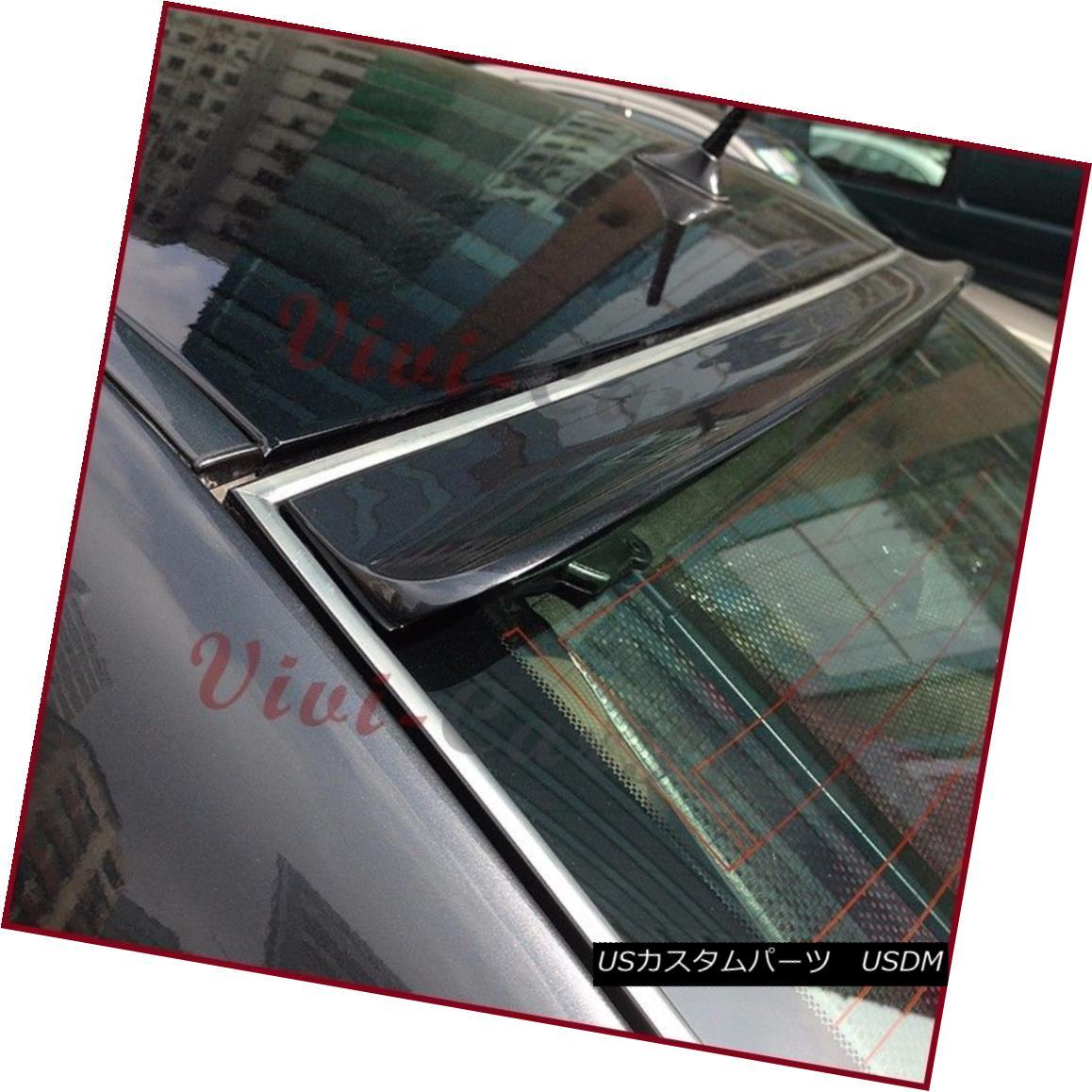エアロパーツ Painted B Type PU Roof Spoiler For 01-06 Lexus LS430 Sedan Rear Windowshield Lip ペイントされたB型PU屋根スポイラー01-06レクサスLS430セダンリアウィンドシールドリップ