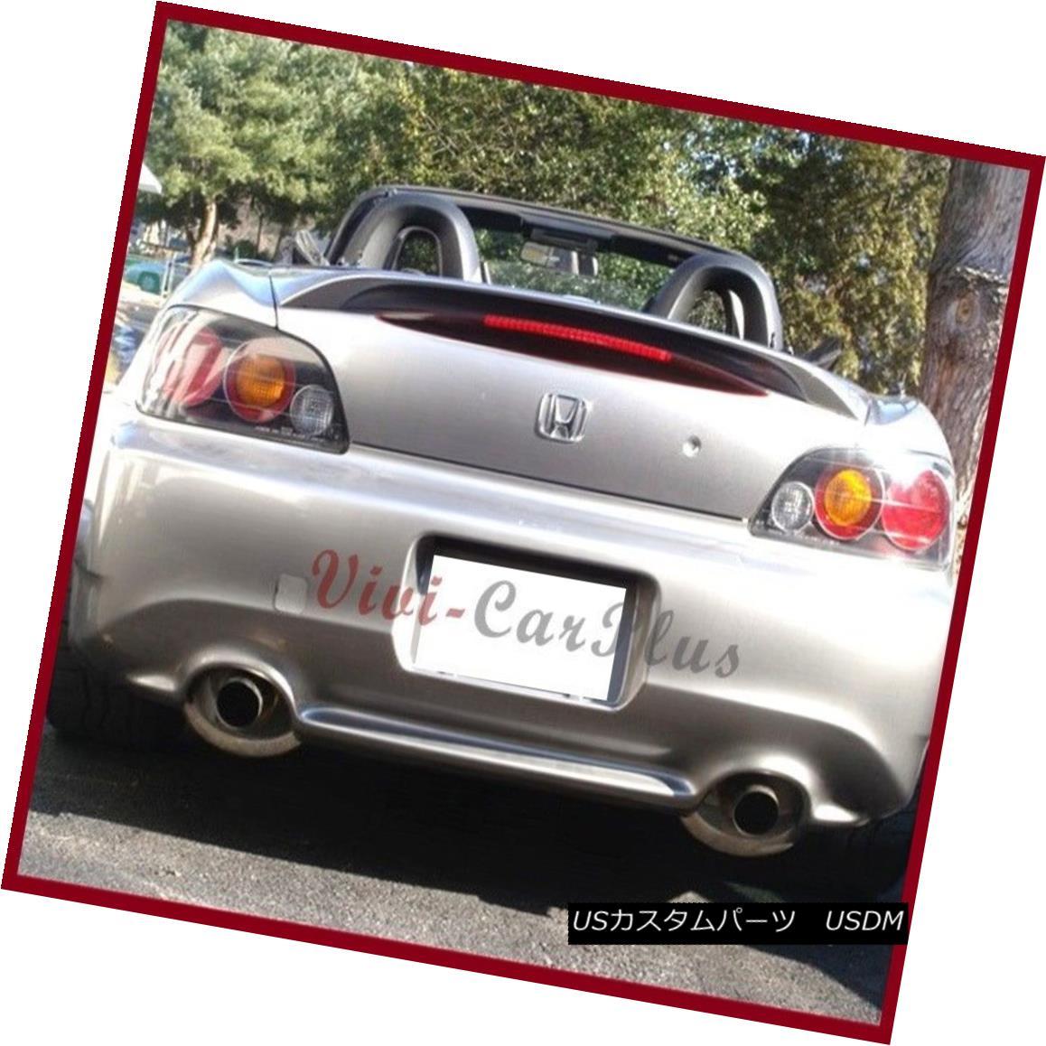 エアロパーツ Pick Color 2000-2009 Honda S2000 OE Style Trunk Boot Spoiler Wing Lip AP1 AP2 ピックカラー2000-2009ホンダS2000 OEスタイルトランクブーツスポイラーウイングリップAP1 AP2