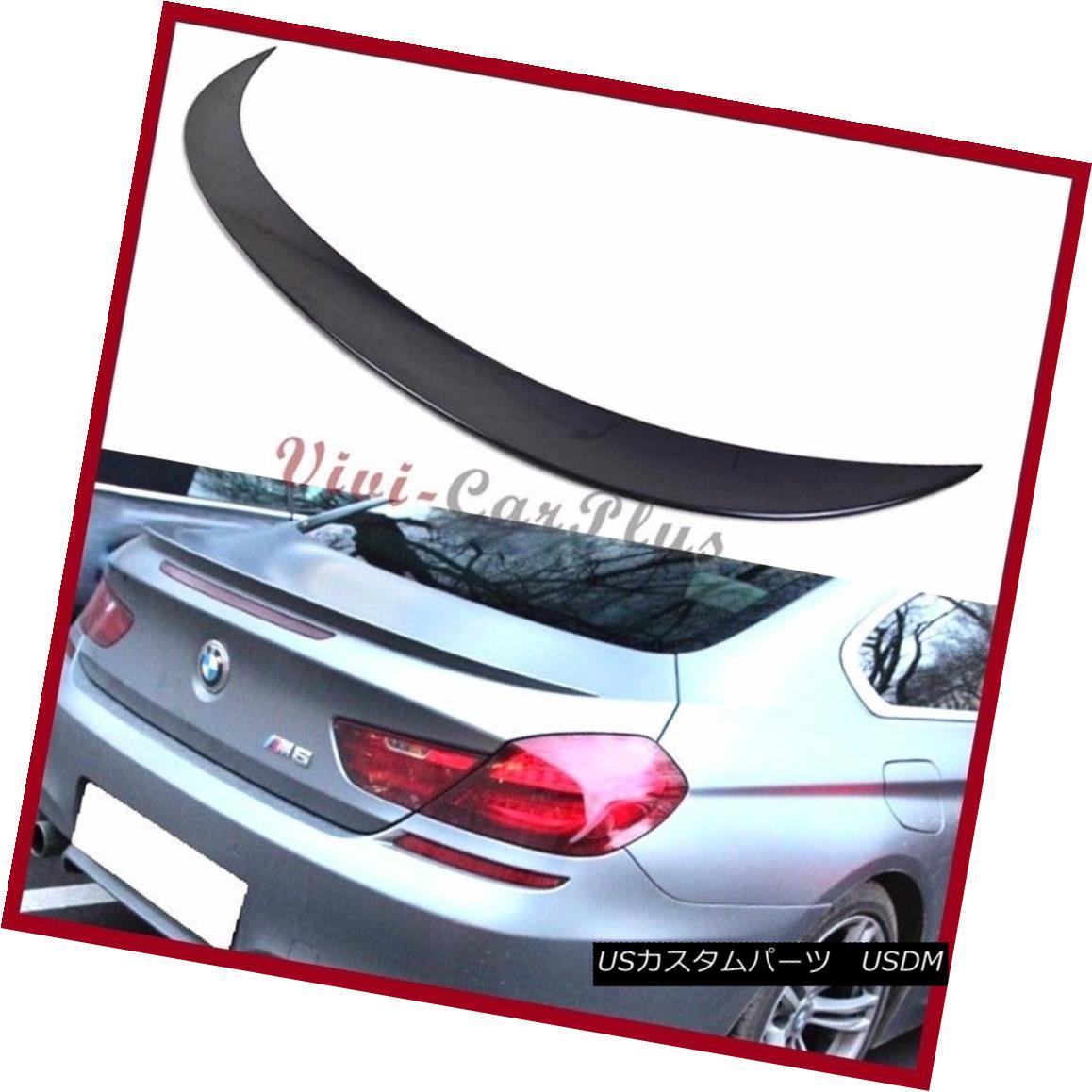 <title>車用品 バイク用品 >> パーツ 外装 エアロパーツ リアスポイラー おトク Pick Color 12-15 BMW F13 M6 Trunk Boot Rear Spoiler Wing For 640i 650i Coupe ピックカラー12-15 M6トランクブーツリアスポイラーウィングfor M6クーペ</title>