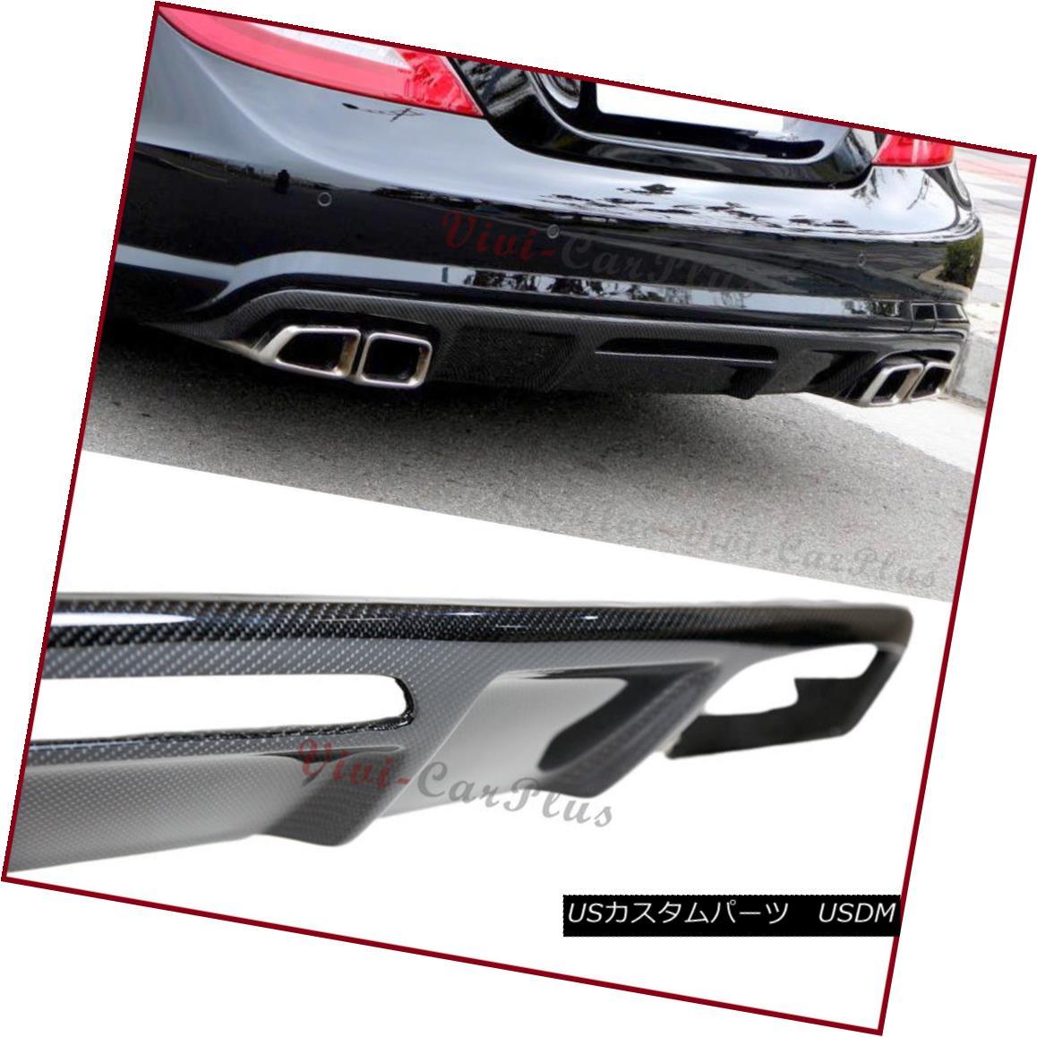 エアロパーツ Carbon Fiber Diffuser Fit 11-16 M-Benz W218 CLS350 CLS550 CLS63 AMG Rear Bumper カーボンファイバーディフューザーフィット11-16 M-Benz W218 CLS350 CLS550 CLS63 AMGリアバンパー