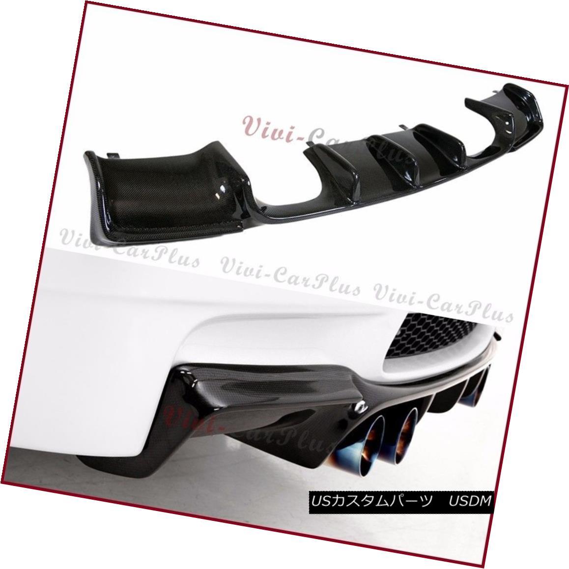 エアロパーツ Carbon Fiber GS Type Rear Diffuser For 08-13 BMW E92 E93 M3 Bumper Coupe Convert 炭素繊維GSタイプリアディフューザー08-13 BMW E92 E93 M3バンパークーペ変換