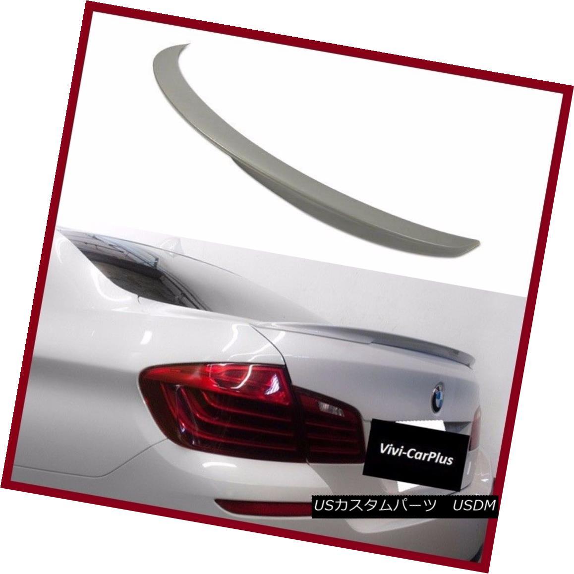 エアロパーツ UNPAINTED 12-16 BMW F30 3-Series 328i 325i 320i 4Dr P Type Trunk Boot Spoiler UNPAINTED 12-16 BMW F30 3シリーズ328i 325i 320i 4Dr Pタイプトランク・ブート・スポイラー