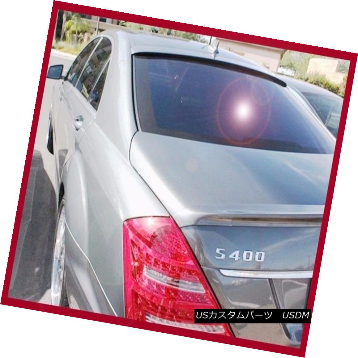 エアロパーツ Pick Color 07-13 M-Benz W221 L Type S500 S550 S600 S65 Roof Boot Spoiler Wing ピックカラー07-13 M-Benz W221 LタイプS500 S550 S600 S65ルーフブーツ・スポイラー・ウィング