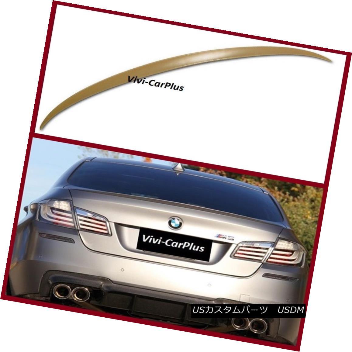 エアロパーツ UNPAINTED 11-16 BMW F10 5 Series 4Dr M5 520i 528i 535i M5 Type Trunk Spoiler Lip UNPAINTED 11-16 BMW F10 5シリーズ4Dr M5 520i 528i 535i M5タイプトランク・スポイラー・リップ