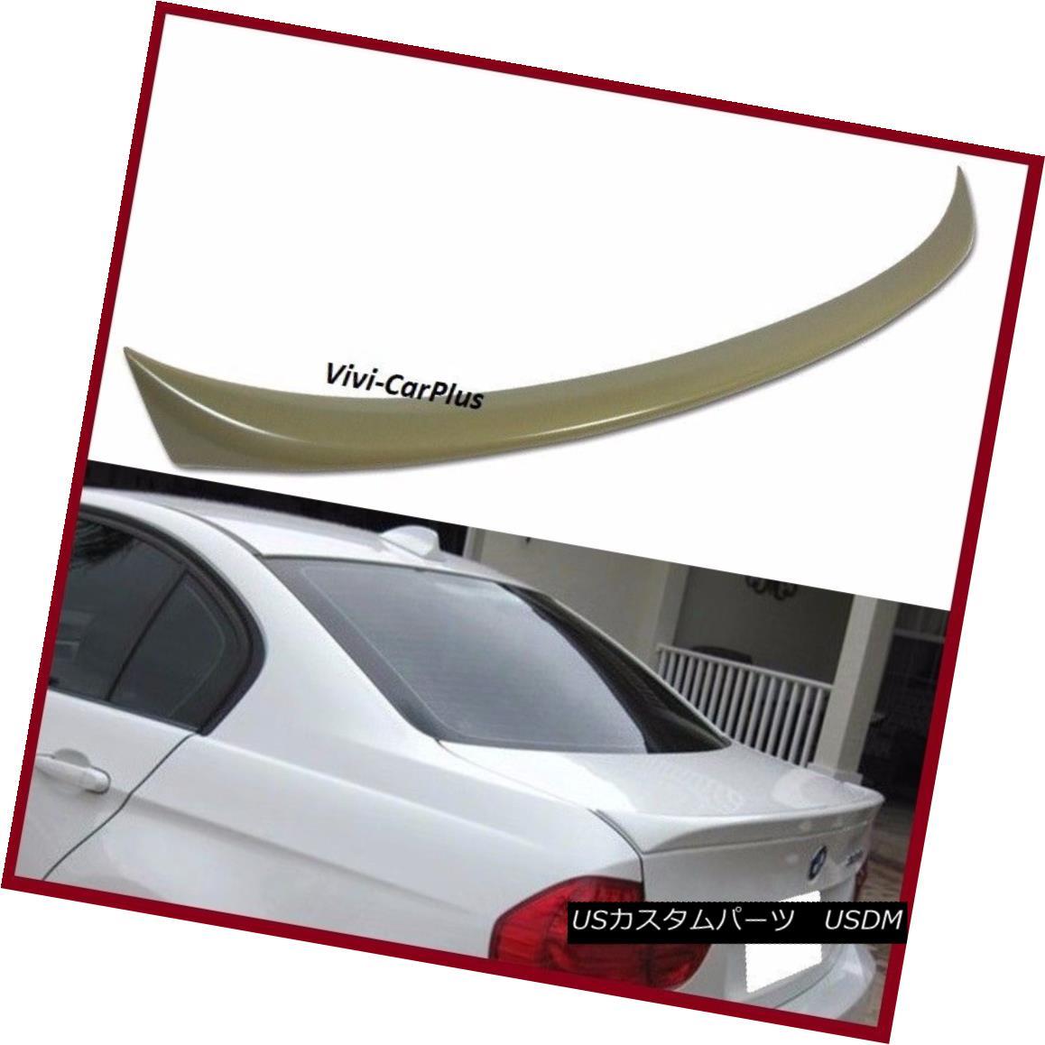 エアロパーツ UNPAINTED 2006-11 BMW E90 3 Series Sedan 323i 330i 335i M3 OE Trunk Spoiler Wing UNPAINTED 2006-11 BMW E90 3シリーズセダン323i 330i 335i M3 OEトランク・スポイラー・ウイング
