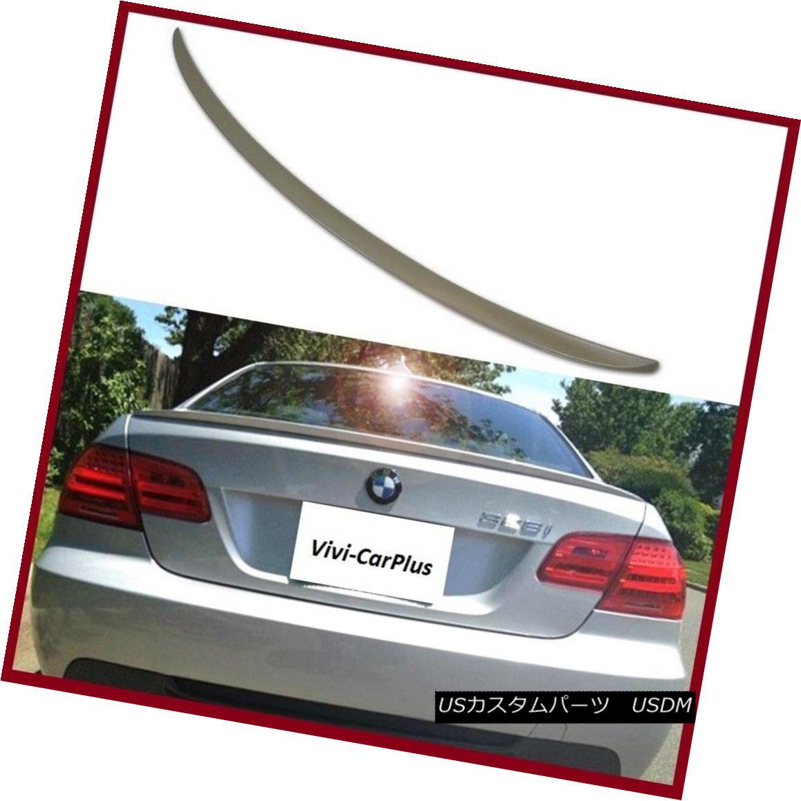 エアロパーツ UNPAINTED 07-13 BMW E92 3-Series M3 320i 328i 335i Coupe M3 Type Trunk Spoiler UNPAINTED 07-13 BMW E92 3シリーズM3 320i 328i 335iクーペM3タイプトランク・スポイラー