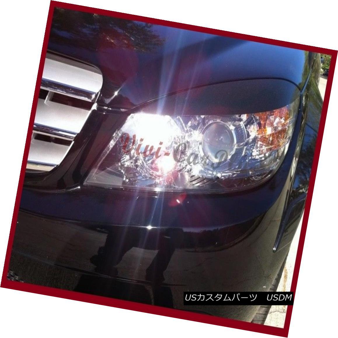 Pick Color Headlight Eyebrows Lids Hood For 08-2011 M-Benz W204 C250 C300 C350
