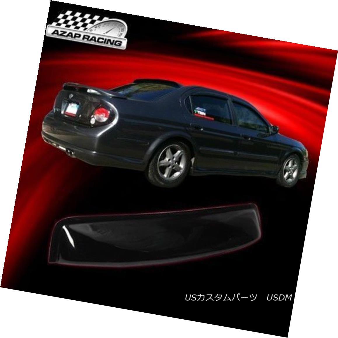 エアロパーツ 2000-2003 OE Style ABS Sun Rear Roof Window Visor Vent Shield Fit Nissan Maxima 2000-2003 OEスタイルABSサンリアリヤウインドバイザーベントシールドフィット日産マキシマ