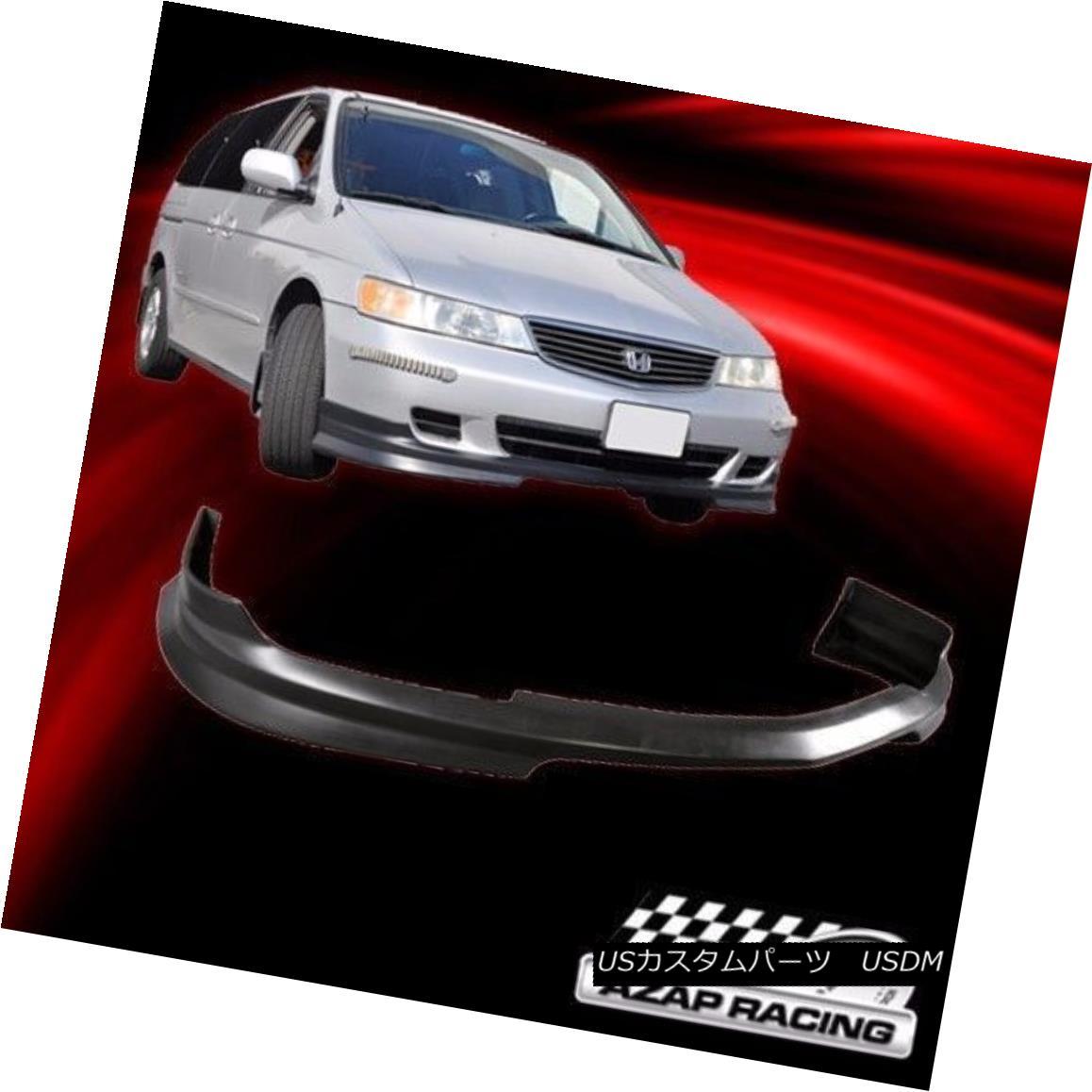 エアロパーツ 1999-2004 JDM Style Poly Urethane Front Bumper Lip Spoiler Fits Honda Odyssey 1999-2004 JDMスタイルポリウレタンフロントバンパーリップスポイラー、ホンダオデッセイにフィット